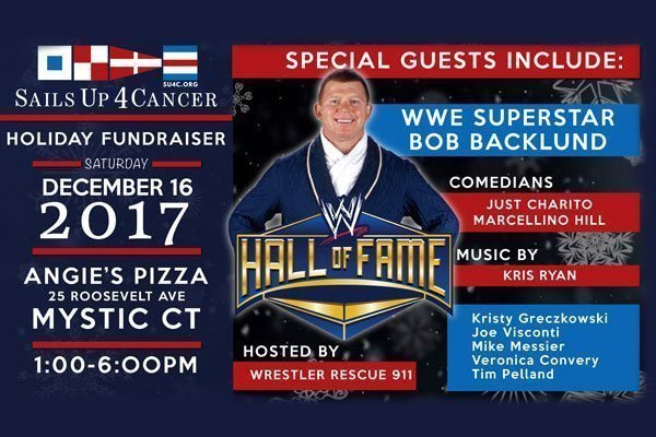 Bob Backlund Cancer Fundraiser Poster