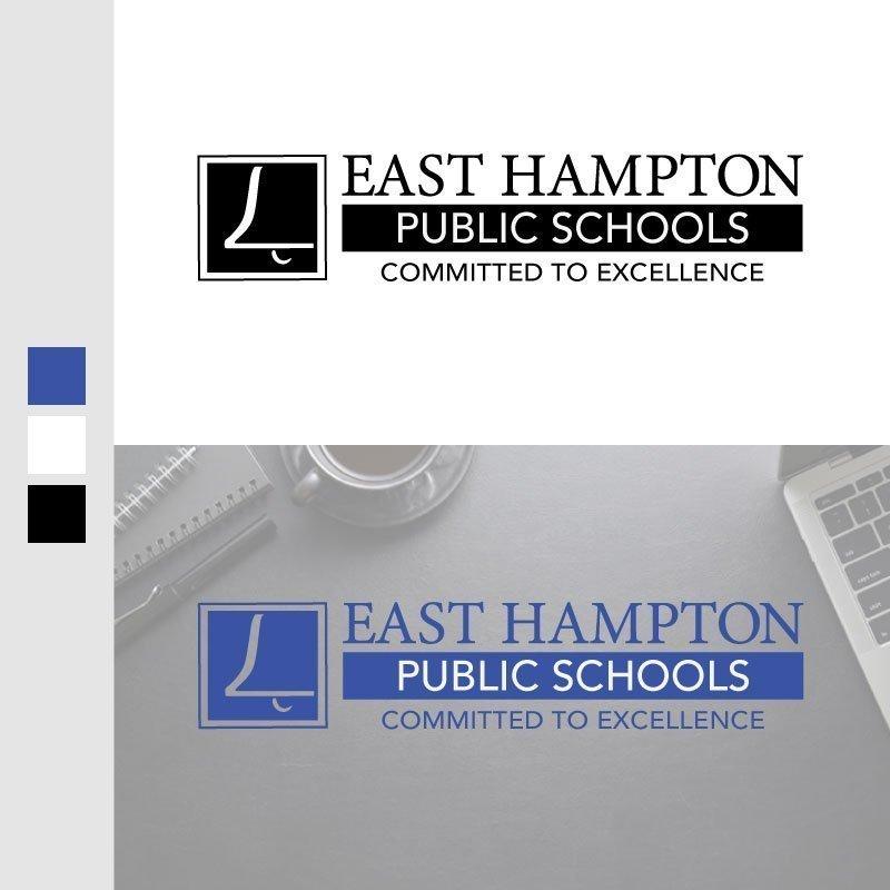 East Hampton Public Schools Logo  Design