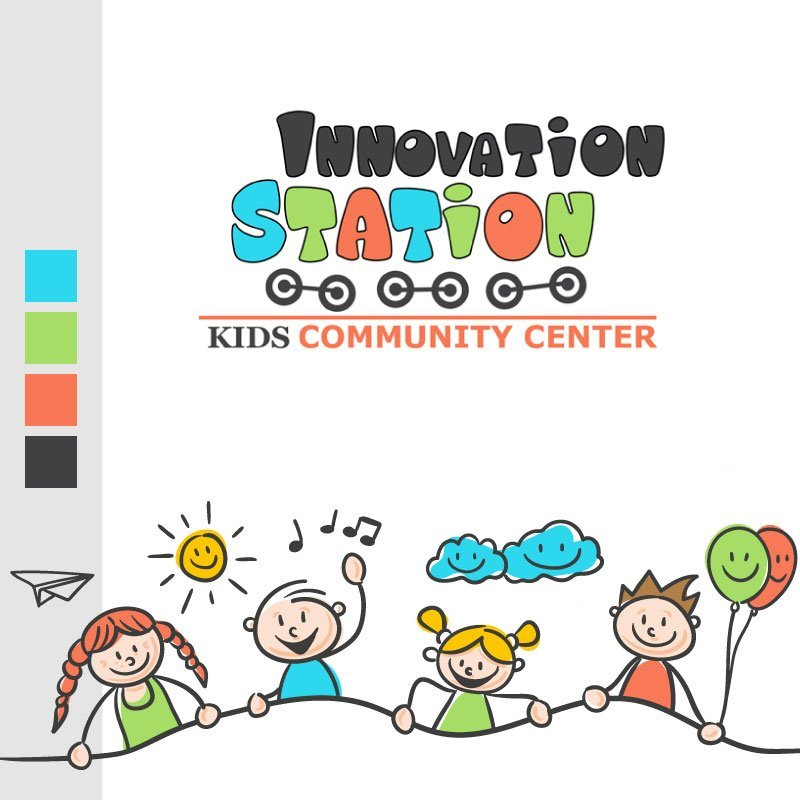 Innovation Station Daycare Logo