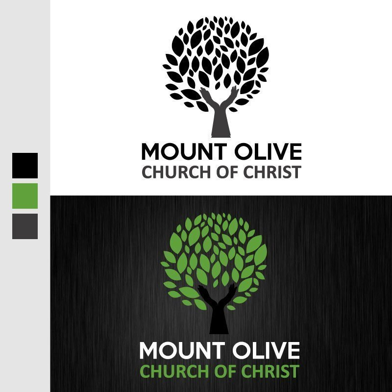 Mount Olive Church of Christ  Logo Design by John Denner