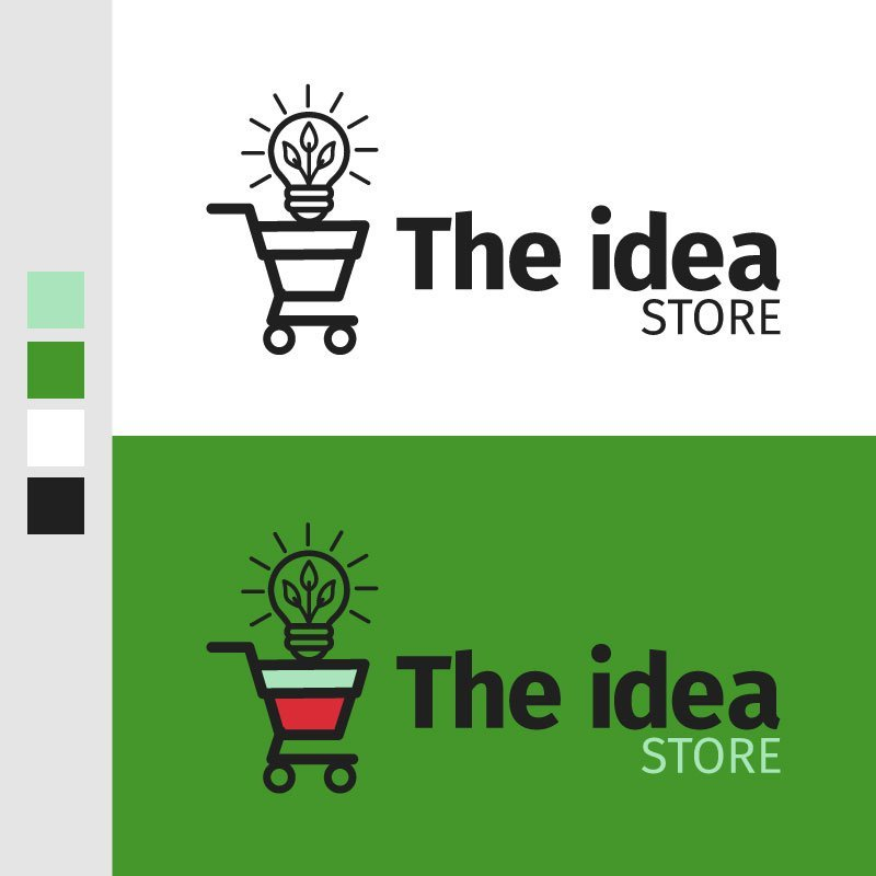 The Idea Store Logo by John Denner
