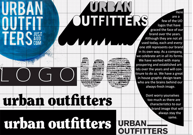 Urban Outfitters Brand Guide