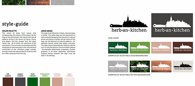 Herban Kitchen Style Guide