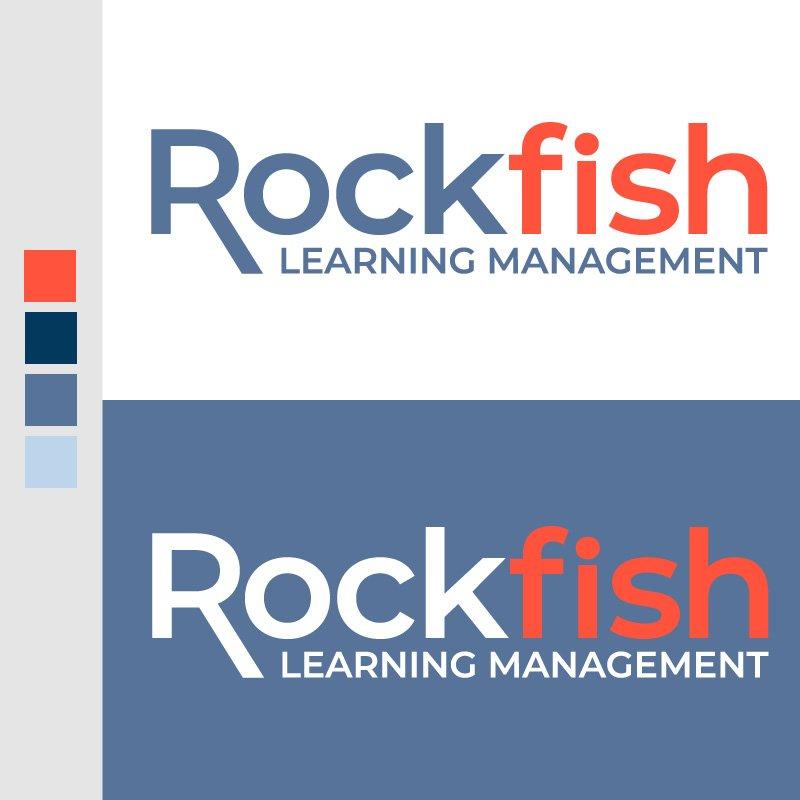 Rockfish Learning Management Logo by  John Denner